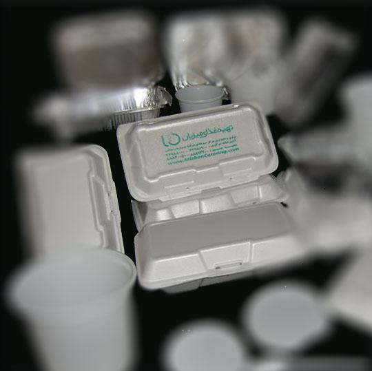 چاپ روی ظروف یکبار مصرف به روش تامپو