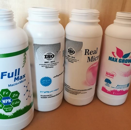 چاپ سیلک چند برند معروف روی بطری - با استفاده از دستگاه تثبیت رنگ