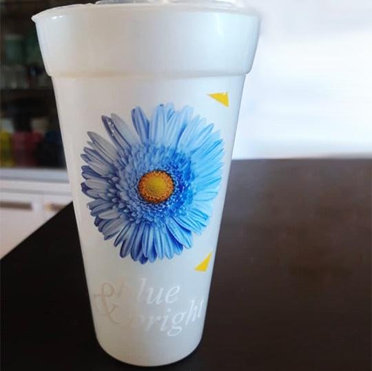 چاپ روی لیوان در بالاترین کیفیت و ماندگاری